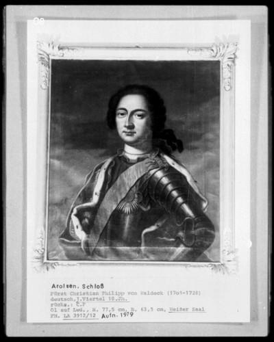 Fürst Christian Philipp von Waldeck