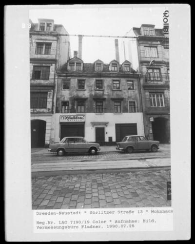 Wohn- und Geschäftshaus, Dresden - Neustadt (Dresden), Görlitzer Straße 13
