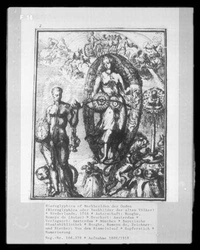 Hieroglyphica of Merkbeelden der Ouden (Hieroglyphica oder Denkbilder der alten Völker) — Von dem Himmelslauf