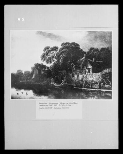 Landhaus am Fluß