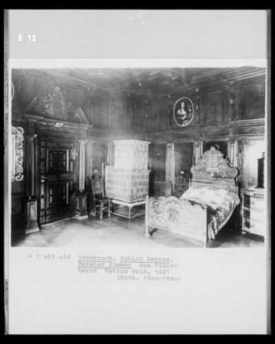 Meraner Zimmer des Pfarrherrn Patrus Heid
