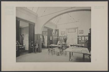 Ernst-Ludwig-Haus, Darmstadt: Das Atelier Olbrich (Blatt aus den