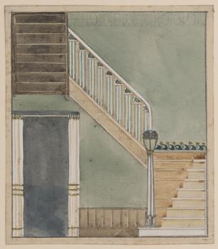 Treppe im Haus des Staatsministers Kolbe