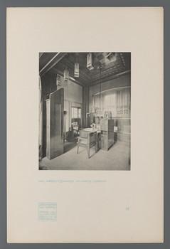 Haus Olbrich, Darmstadt: Arbeitszimmer (Blatt 44 aus den