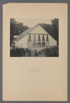 Ansicht des Spielhauses (Blatt 47 aus den Wasmuth-Mappen, Bd. 1, Verlag Ernst Wasmuth, Berlin)