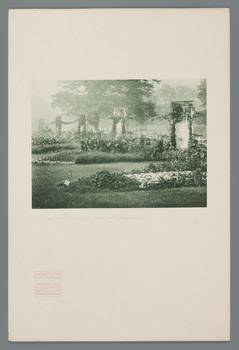 Die Umzäunung der Künstlerkolonie-Ausstellung 1901 (Blatt 2 aus den