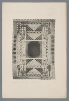 Haus Olbrich, Darmstadt: Teppich in der Halle (Blatt 77 aus den