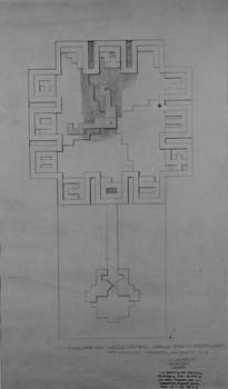 Göttingen, Zifferblatt für eine Pendule in der Villa Stein
