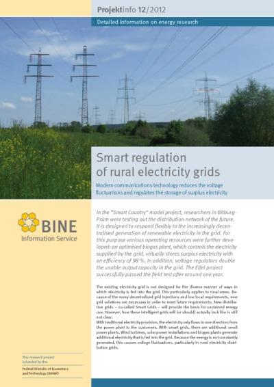 Smart regulation of rural electricity grids.
