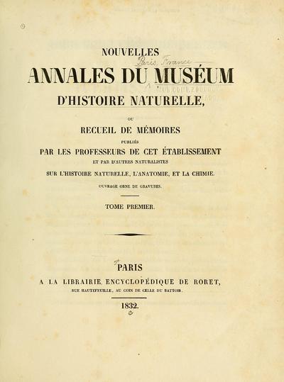 Nouv.Ann.Mus.Hist.nat.Paris