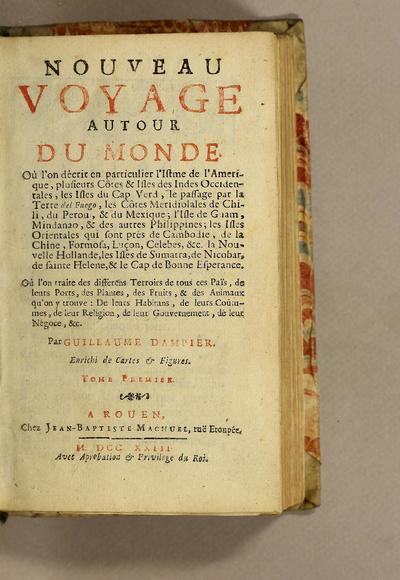 New voyage round the world.