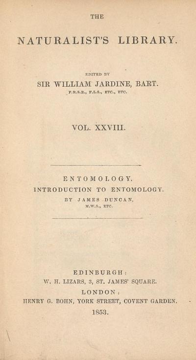 Entomology : introduction to Entomology /