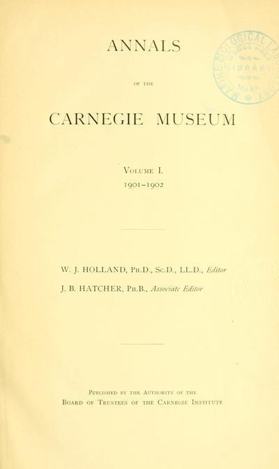 Ann. Carnegie Mus.