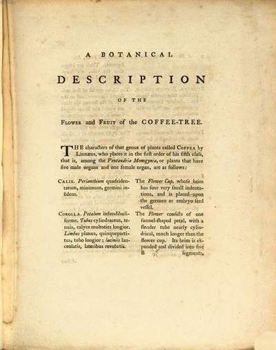 ˜Anœ historical account of coffee :With an engraving and botanical description of the thee ; To which are added sundry papers relative to its culture and use, as an article of diet and of commerce