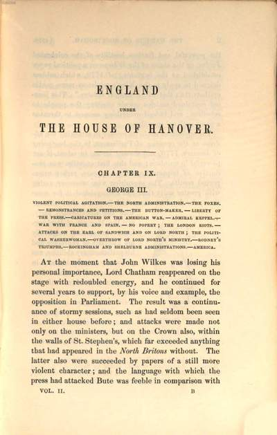 England under the house of Hanover :its history and condition during the reigns of the three Georges : illustrated from the caricatures and satires of the day. 2