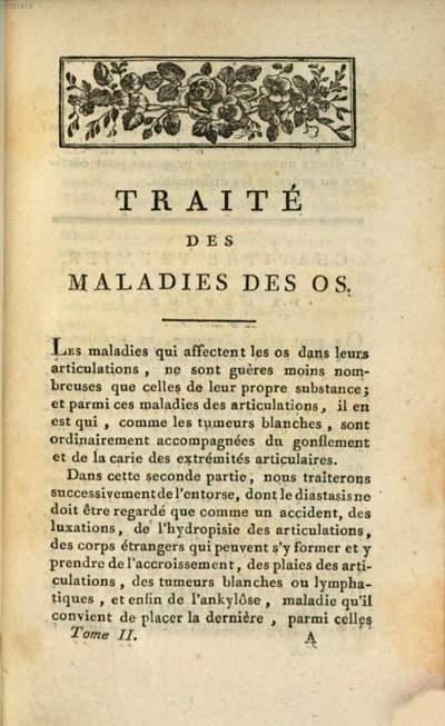 Leçons Du Cen. Boyer, Sur Les Maladies Des Os :Rédigées En Un Traité Complet De Ces Maladies. 2