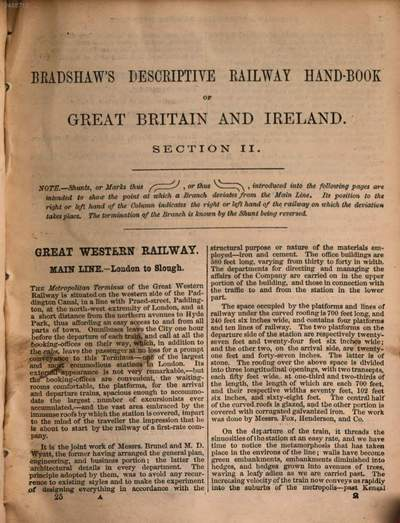 Bradshaw's shilling handbook of Great Britain and Ireland, illustrated with superb-steel engraved views, maps & plans of towns in four sections each forming a special and distinct handbook. 2