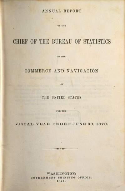 Annual report of the Chief of the Bureau of the Statistics on the commerce and navigation of the United States, 1870 (1871), 30. Juni