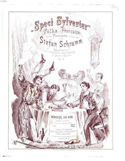 Speci Sylvester :Polka française ; für d. Pianoforte comp. ; op. 15