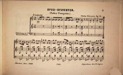 Speci Sylvester :Polka-française ; op. 15