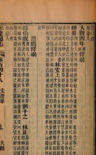 Chong zuan Fujian tong zhi. 10