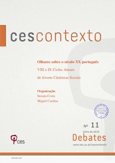 Olhares sobre o século XX português: VIII e IX Ciclos Anuais de Jovens Cientistas Sociais