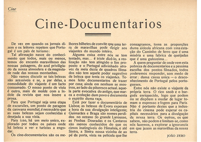 Cine-documentarios