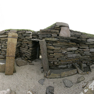 Panorama Movie of House 2, Skara Brae