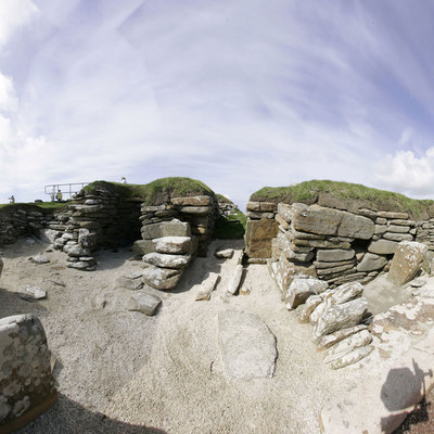 Panorama Movie of House 4, Skara Brae