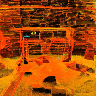 LiDAR Scan of House 7, Skara Brae
