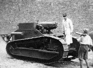 Canon de 75 sur char Renault