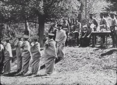 L' Empereur Nicolas II et le Grand-Duc héritier au 16ème régiment de Tirailleurs
