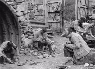 L'avance française de Soissons à Reims (Chemin des Dames, Craonne), avril - mai 1917