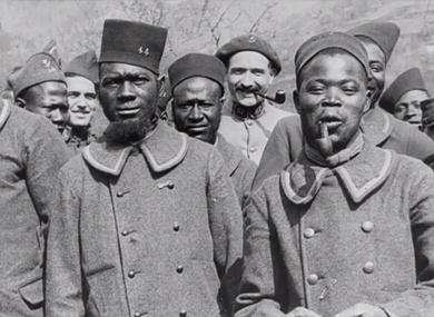 Les tirailleurs sénégalais en Alsace