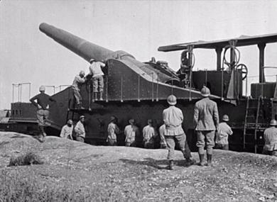 L'artillerie et l'aviation dans la région de Verdun