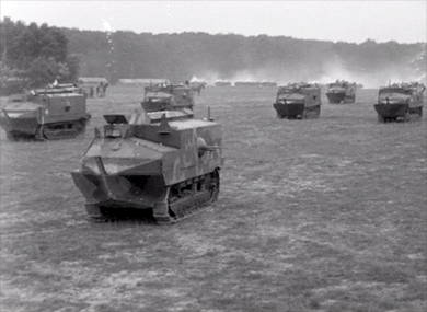 Les chars d'assaut Schneider