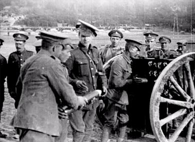 L'armée anglaise combattant en France