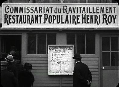 Le premier restaurant populaire et celui des Tuileries