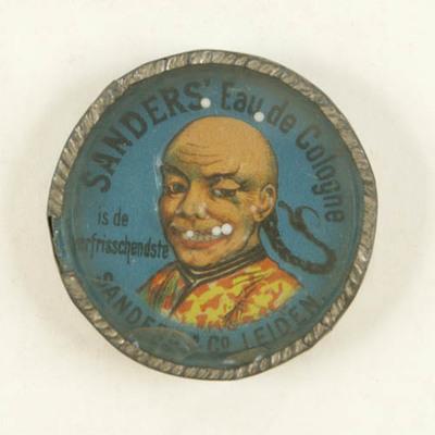 Geduldspel, Chinees hoofd met 5 witte kogeltjes die op de plaats van de tanden gerold moeten worden