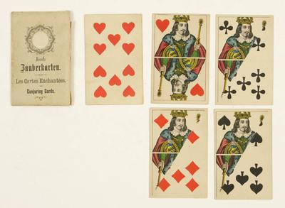 Neueste Zauberkarten / Les Cartes Enchantées / Conjuring Cards, Toverkaarten