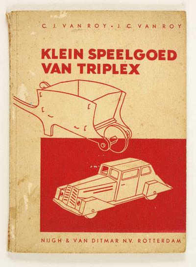 Klein speelgoed van triplex, knutselboek compleet met werktekeningen
