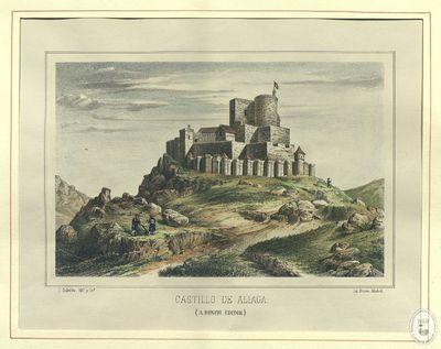 Castillo de Aliaga [Material gráfico]