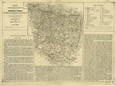 Provincia de Huesca [Material cartográfico]