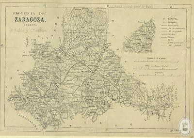 Provincia de Zaragoza [Material cartográfico]: Aragón