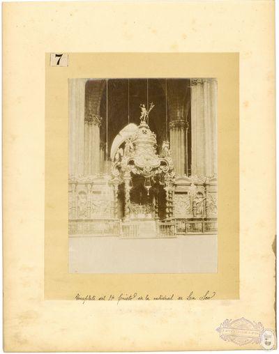 Templete del Sto. Cristo de la Catedral de La Seo [Material gráfico]