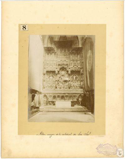 Altar mayor de la Catedral de La Seo [Material gráfico]