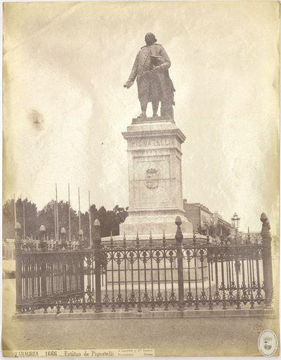 Zaragoza [Material gráfico] : 1666 : Estatua de Pignatelli