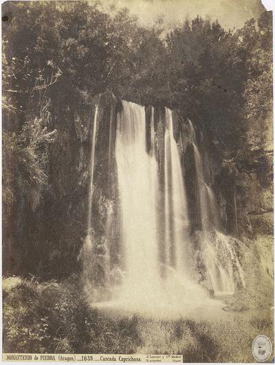 Monasterio de Piedra (Aragón) [Material gráfico] : 1639 : Cascada Caprichosa