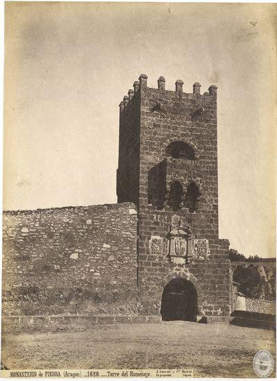 Monasterio de Piedra (Aragón) [Material gráfico] : 1628 : Torre del Homenaje