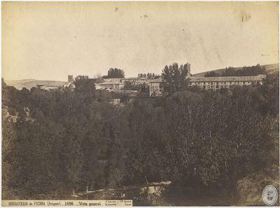 Monasterio de Piedra (Aragón) [Material gráfico] : 1626 : Vista general